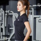 《KISSDIAMOND》高彈力清涼透氣美背運動休閒上衣-103(短袖/T恤/吸濕/排汗/修身/顯瘦/黑色)(S/黑色)