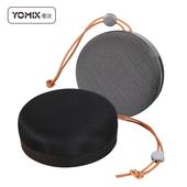《Yomix優迷》環繞立體聲可通話迷你藍牙喇叭(黑)