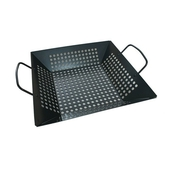 《碳鋼》孔洞鑄鐵 不沾烤盤 加深款(30X30.3X6.5cm)