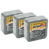 《月陽》台灣製超值3入黑手專用超強去油污清潔皂手工肥皂145g (H43423)