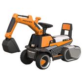 《TECHONE》TECHONE MOTO 17 模擬操控兒童電動挖土機(TECHONE MOTO 17 模擬操控兒童電動挖土機-橙)