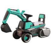 《TECHONE》TECHONE MOTO 17 模擬操控兒童電動挖土機(TECHONE MOTO 17 模擬操控兒童電動挖土機-綠)