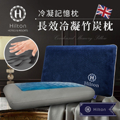 《Hilton 希爾頓》Hilton 希爾頓 夏威夷海灘系列 長效冷凝竹炭記憶枕(B0800-AS)