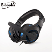 《E-books》S94 雷霆頭戴耳機麥克風(黑)