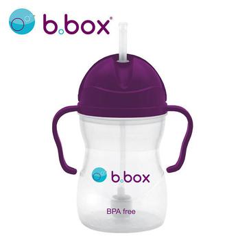 《B.Box》澳洲 升級版防漏學習水杯 / 水壺 240ml(葡萄紫)