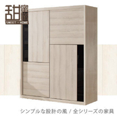 《甜蜜蜜》菲思5尺拉門衣櫃