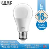 《太星電工》16W超節能LED燈泡3入(白光)