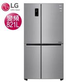 《LG樂金》821公升WiFi門中門對開冰箱-星辰銀GR-DL88SV(含拆箱定位)