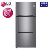 《LG樂金》525公升直驅變頻上下門雙門(門中門)冰箱-星辰銀GN-DL567SV(含拆箱定位)