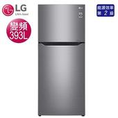 《LG樂金》393公升直驅變頻上下門雙門冰箱-星辰銀GN-BL418SV(含拆箱定位)