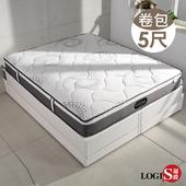 LOGIS 雙人5尺凱特獨立筒彈簧床-【BT55P-5M】(5尺)