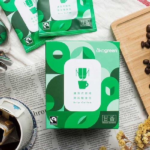 《生態綠》濾泡式掛耳隨身包 10gX7包/盒(甘香)