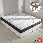 LOGIS|瑞恩單人3.5尺彈簧床【E221B-3.5M】(5尺)