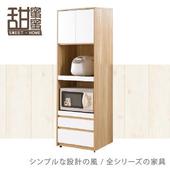 《甜蜜蜜》費雪2尺高餐櫃/收納櫃