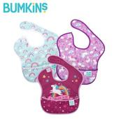 《Bumkins》防水圍兜兜 - 三件組(彩虹小馬)