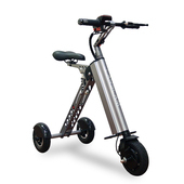 《CARSCAM》K型智能三輪折疊電動車