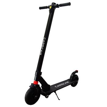 《CARSCAM》8吋雙避震鋁合金8.8Ah輔助輪電動折疊滑板車