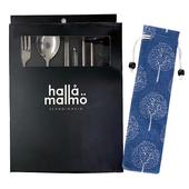 《304不鏽鋼》餐具六件組 顏色款式隨機出貨叉子/湯匙/筷子/直吸管/彎吸管/清潔刷 $149