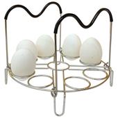 《304不鏽鋼》蒸蛋架直徑18.5X4cm $99