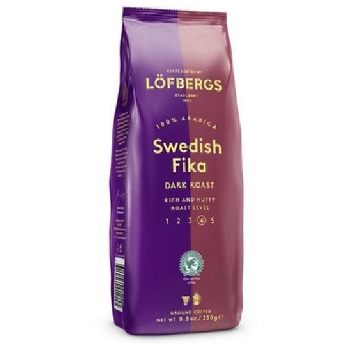《瑞典Lofbergs》經典Fika咖啡粉-中深烘培(250g/袋)