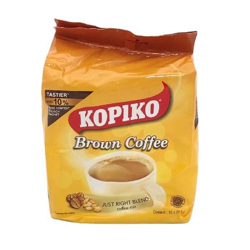 《KOPIKO》三合一即溶咖啡(黃糖 275g(2.7g*10)/袋)