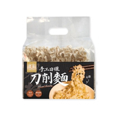 《福忠字號》手工刀削麵 5片/袋(x4袋)