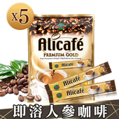 《POWER ROOT》即溶人參咖啡(300g/包) 包裝內含15條(x5包)