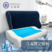 《Hilton 希爾頓》Hilton 希爾頓 琴海系列。酷涼冷凝人體工學記憶枕(B0799)