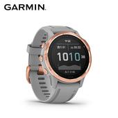 《Garmin》Fenix 6s 進階複合式GPS手錶 鐵人錶(玫瑰金)