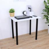 《頂堅》寬80x深60x高75/公分-長方形書桌/餐桌/電腦桌/洽談桌(二色可選)(素雅白色)