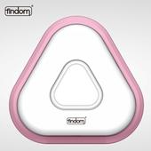 《findom》U 飯糰 光控/警報/感應 LED 燈  瘋殺包2入組(粉紅色)