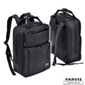 《FARVIS》日本機能 2WAY 輕量 商務後背包 電腦後背包(後背包)