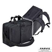 《FARVIS》日本機能 3WAY 輕量 電腦後背包 公事包(後背包)