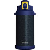 《膳魔師》不銹鋼真空保冷瓶2L 錘印藍(FHS-2000WK-HTN)
