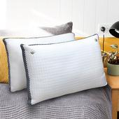 《【Indian】》摩登立體涼感透氣兩用枕(2顆)