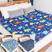 《【Victoria】》鋪棉透氣日式折疊床墊-雙人(多款任選)(鯨魚)