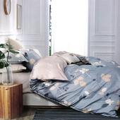 《【Victoria】》抗菌五件式雙人加大床罩組-風情