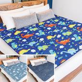 《【Victoria】》鋪棉透氣日式折疊床墊-單人(多款任選)(鯨魚)