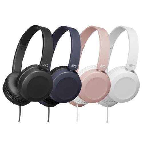 《JVC》HA-S31M 輕量立體聲耳罩式耳機(黑色)