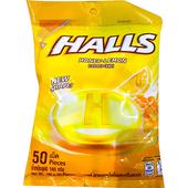 《即期2020.02 HALLS》夾心糖-140g/袋(蜂蜜檸檬風味)