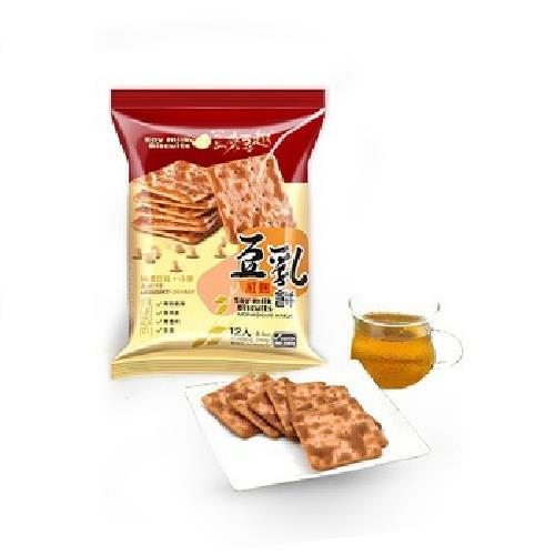 《大溪廖心蘭》豆來豆趣豆乳餅-240g(紅麴)