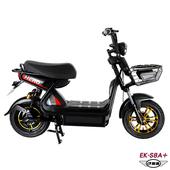 《e路通》(客約)EK-S8A+ 野馬 48V 鉛酸 高亮大燈 防盜鎖 避震 電動車 (電動自行車)(黑)