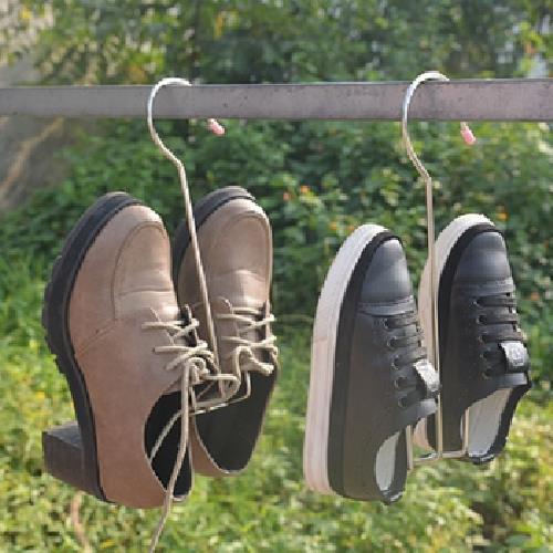 加大不鏽鋼晾鞋架3入組(14.5*26cm)