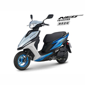 《YAMAHA山葉》NEO125 無畏登場 碟煞- 2019年新車(藍銀白)