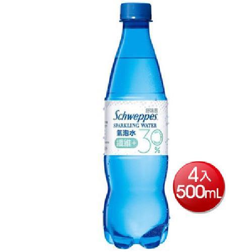 《舒味思》氣泡水纖維+(500mlx4)