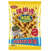 《湖池屋》橫網棒-海苔鹽口味(190g/包)