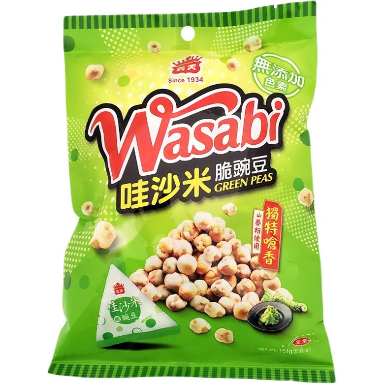 《義美》哇沙米豌豆(151g/包)