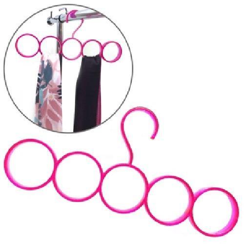 五環簡約圍巾掛架(32X15cm)