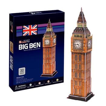 《D建築拼圖》入門版-英國倫敦大笨鐘