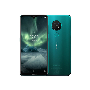 《諾基亞》Nokia 7.2 水滴型6.3吋螢幕三鏡頭智慧型手機(綠色)